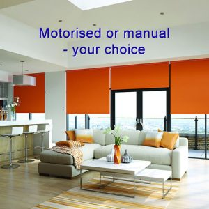 Motorised and manual blinds in High Wycombe